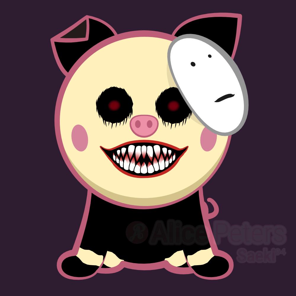 Pigguh aka Pennypig (MGGLP Mascot)
