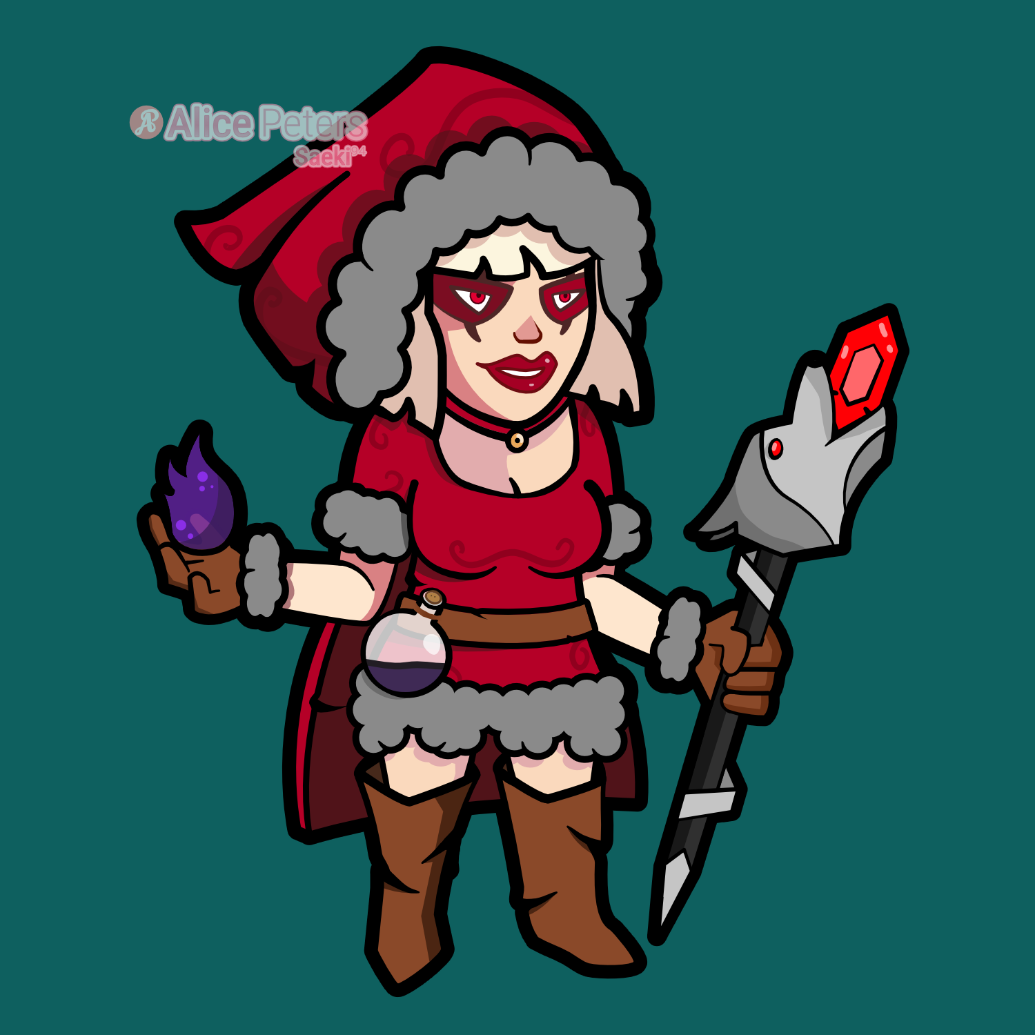 Red Riding Witch